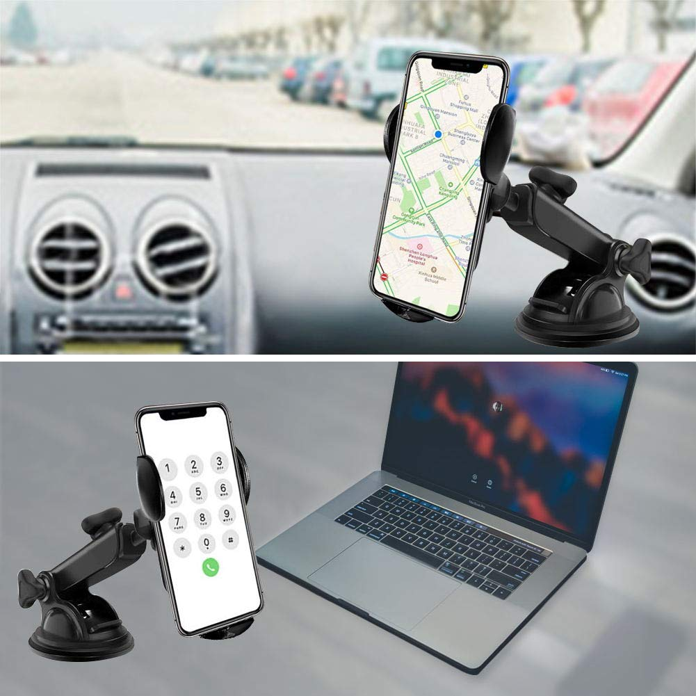 Samsung S10//S10+//S9//S9+//S8//S8+ Wireless Car Charger Mount Ecke 10W Qi Wireless Car Fast Charger Mount Air Vent /& Dashboard Phone Gravity Holder Compatible iPhone X//Xs Max//XR//8//8+