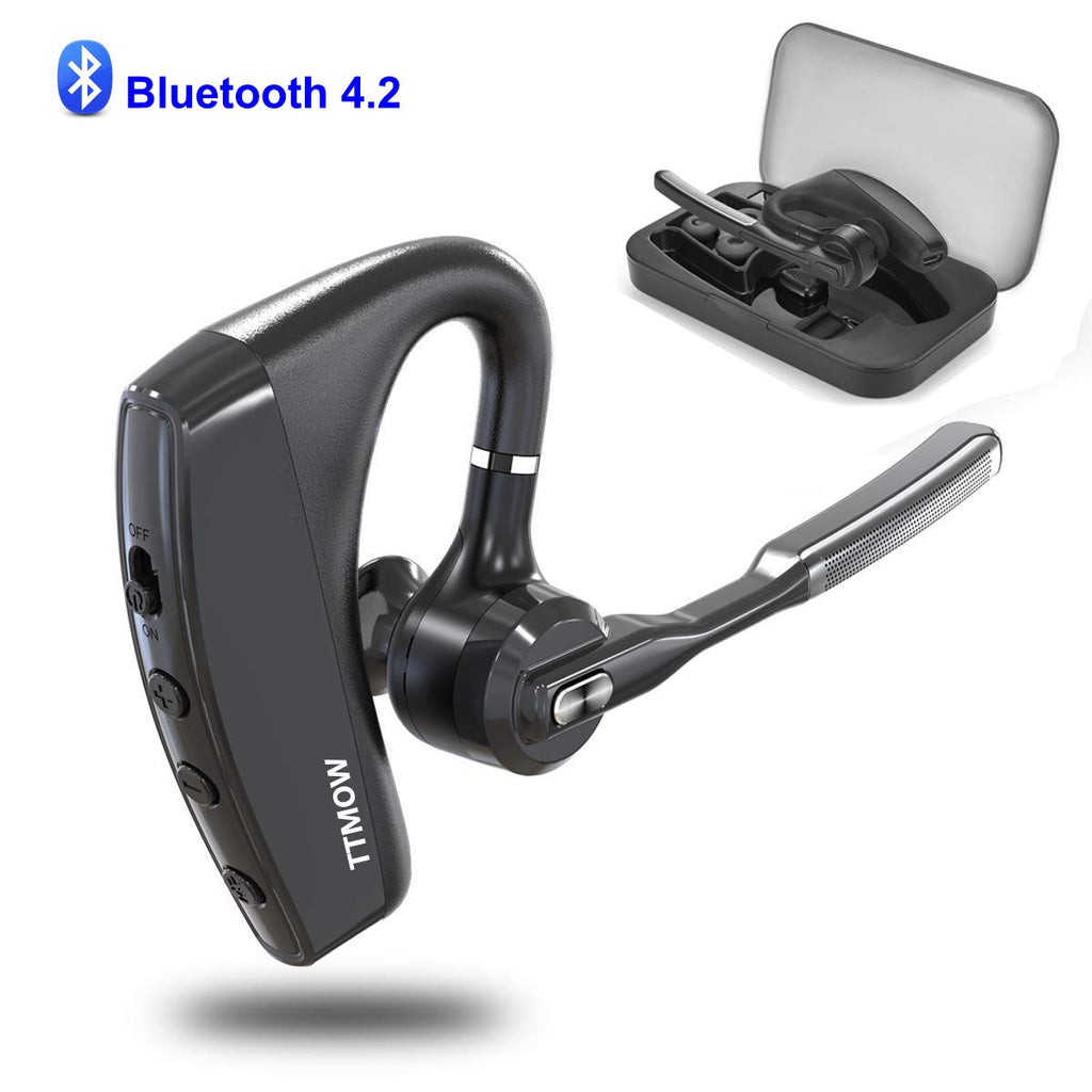 Ttmow Bluetooth Headsets V4 2 Hands Free Wireless Earpiece With Dual M Panamaplaza