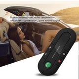 Salemar Handsfree Bluetooth Visor Speakerphone Car Kit Bluetooth Wireless Audio Music Receiver with USB Charging Ports (MP3 & Charger)