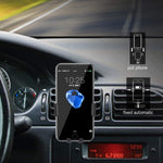 HoHoHoHot Fast Wireless Car Charger Air Vent Phone Mount Holder, Qi Certified, 7.5W Compatible iPhone XR/XS Max/XS/X/8/8 Plus, 10W for Galaxy S9/S9+/S8/S8+/LG G7, and 5W for All Qi-Enabled Phones