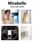 Sticky Gel Pads, Phone Stick on Anything, Nano Rubber Pad, Car Holder, Universal Sticker, Sticky mats for Phones, Phone Holder for car,Magic Nano Rubber Pads,Stick Anything Anywhere (5-Pack)