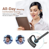 Bluetooth Headset,HandsFree Wireless Earpiece V4.1 with Mic for Business/Office/Driving,Work for iPhone/Android Cell Phones