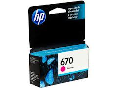 Marca: HP, Código: CZ115AL, HP 670 - Dye-based magenta - original - Ink Advantage - ink cartridge - for Deskjet Ink Advantage 3525, Ink Advantage 4615, Ink Advantage 4625, Ink Advantage 5525