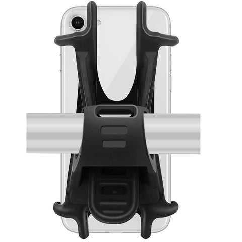 Ailun Motorcycle Mountain Bike Phone Mount Holder Accessories,Universal Adjustable Bicycle Harley Davidson Handlebar Rack Compatible iPhone 8Plus/8,Galaxy s10s10plus,S9/S9+,S8+/S8/