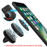 Maxboost Car Mount, [2 Pack] Universal Air Vent Magnetic Phone Car Mounts Holder for iPhone Xs Max XR X 8 7 Plus 6S 6 SE, Galaxy S9 S8 S7 Edge, LG G6, Note 8 5 and Mini Tablet (Compatible Most Case)