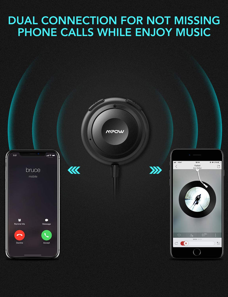 Mpow MBR2 Bluetooth Car Kits for Hands-Free Calling