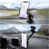 Mpow Gen-2 Dashboard Car Phone Holder, Windshield Car Phone Mount, with Strong Sticky Gel Pad for iPhone Xs Max/Xs/Xr/X/8/8Plus/7/7Plus, Galaxy S9/S8/S7 Note9/Note8, Google, Moto, Huawei and More