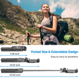 Selfie Stick Tripod, MZTDYTL Bluetooth Extendable Selfie Stick with Wireless Remote Shutter and Integrated Tripod Stand Selfie Stick for iPhone XS/X/iPhone 8/8 Plus/iPhone 7/7 Plus, Galaxy S9/S8, More