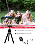 Phone Camera Lens, [2019 Latest Version] AOMAIS 9 in 1 Phone Lens Kit, 18X Zoom Telephoto Lens|Super Wide Angle Lens|Macro Lens|Fisheye Lens|2X Telephoto Lens|CPL, Compatible with iPhone X XS & More