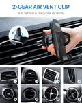 andobil Car Phone Mount, Hands-Free Phone Holder for Car Dashboard Air Vent Windshield, Super Strong Suction Cup, Compatible for iPhone X/XS/XR/8 Plus/8/7 Plus/7/6s, Samsung Galaxy S10/S9/S8, etc.