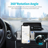 Wireless Car Charger Mount, Gixvdcu 10W Qi Fast Charging Auto-Clamping Car Mount with Air Vent Phone Holder Compatible for iPhone Xs Max/XS/XR/X/8/8 Plus, Samsung Galaxy S10/ S10+/S9/S9+/S8/S8+/Note9