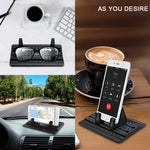 Car Phone Holder, Vansky Car Phone Mount Silicone Dashboard Car Pad Mat for iPhone X/8 Plus/7 Plus/6/6S Plus, Samsung Galaxy S8 Plus/Note 8/S7 3.5-7 inch Smartphone or GPS Devices