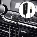 Bluetooth Aux Adapter, U2 Mini Wireless Car Bluetooth Receiver USB to 3.5mm Jack Bluetooth to Aux Adapter Audio Music Receiver Handsfree Car kit with Built in Mic for Car Speaker Home Audio