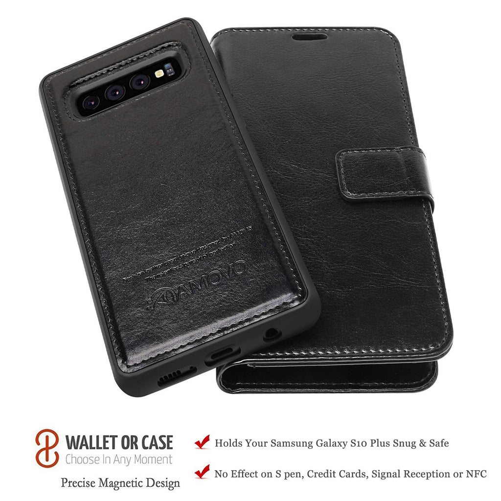 uk availability 59cf1 ea114 AMOVO Case for Galaxy S10 Plus/S10+ (6.4'') [2 in 1] Samsung Galaxy ...