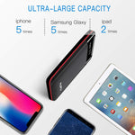 Power Bank 24000mAh Portable Charger High Capacity Dual USB External Battery Packs Portable Phone Charger Battery Backup Compatible Samsung Android Smart phone and Others