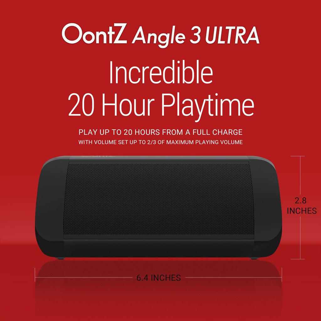 Portable Bluetooth Speaker 14-Watts Deliver Bigger Bass... OontZ Angle 3 Ultra