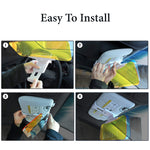 Windshield Anti-Glare Day and Night Car Visor Extender, 2 in 1 Car Sunshade and Night Vision Anti-Dazzle Visor Extender