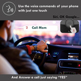 VeoPulse Car Speakerphone B-PRO 2B Hands-Free kit with Bluetooth Automatic Cellphone Connection - Safe Talking and Driving Wireless Technology -Kit Compatible with All Vehicles and Bluetooth Phones,