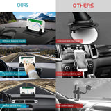 Cell Phone Holder for Car, Orecla Dashboard Car Phone Mount Anti-Slip car Phone Holder, GPS Holder Universal fit All Smartphones, Compatible with iPhone Xs Max/Xs XR X 7/8 Plus, Samsung Galaxy Note 9