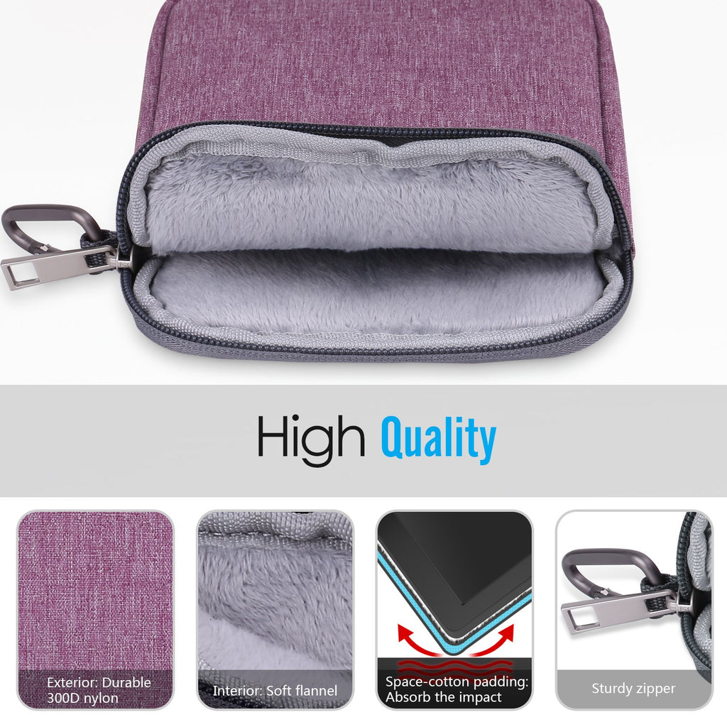 MoKo 6 Inch Kindle Sleeve Case Fits for All-New Kindle 10th