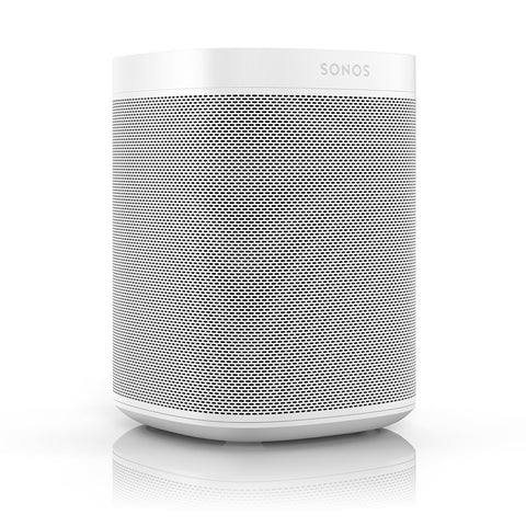 Sonos One (Gen 2) – Voice Controlled Smart Speaker with Amazon Alexa Built-in (White)