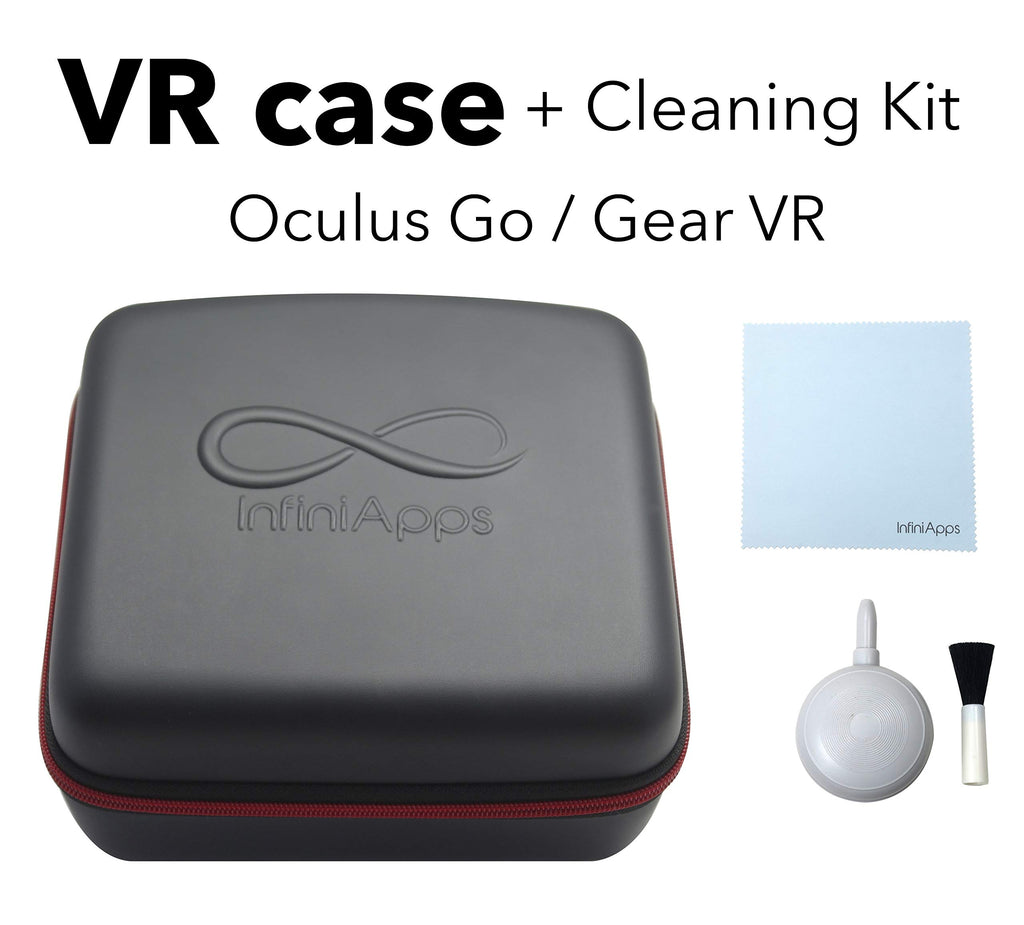 Oculus GO and Samsung Gear VR Life Case Semi-Hard Compact
