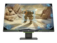 HP, Modelo: 27x, LED, 27, 1920x1080, FULL HD, 144 Hz, 1 ms, 16:9, Panel: TN, VESA 100 x 100, Brillo: 400, Contraste: 1000:1, Código: 3WL52AA#ABA