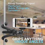 Xenvo SquidGrip Flexible Tripod for iPhone, Android, GoPro, Compatible with All Cell Phones and Action Cameras