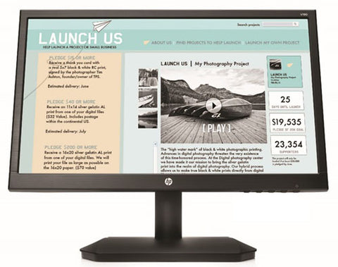 HP, MONITOR LED 18.5-INCH