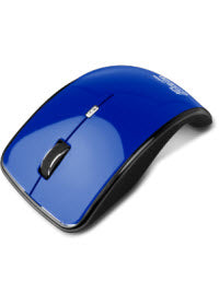 Marca: Klip Xtreme; Código MPN: KMO-375BL; Klip Xtreme Kurve KMO-375 - Mouse - optical - 4 buttons - wireless - 2.4 GHz - USB wireless receiver - blue