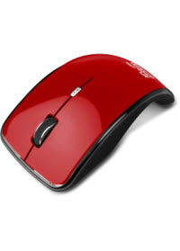 Marca: Klip Xtreme; Código MPN: KMO-375RD; Klip Xtreme Kurve KMO-375 - Mouse - optical - 4 buttons - wireless - 2.4 GHz - USB wireless receiver - red