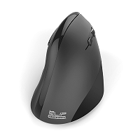 Marca: Klip Xtreme; Código MPN: KMW-390; Klip Xtreme EverRest - Mouse - ergonomic - right-handed - optical - 6 buttons - wireless - 2.4 GHz - USB wireless receiver