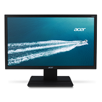 Acer, Modelo: V206HQL, LED, 19.5, 1366x768, HD, 75 Hz, 5 ms, 16:9, Panel: TN, VESA 100 x 100, Brillo: 200, Contraste: 600:1, Código: UM.IV6AA.B09