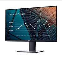"Marca: Dell; Código MPN: P2719H; Dell P2719H - LED-backlit LCD monitor - 27"" - 1920 x 1080 - VGA (DB-15) / HDMI / DisplayPort"
