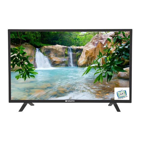 "NISATO, TELEVISOR LED TV 24"", HD720P, 2 X USB, 2 X HDMI, 1 X VGA"