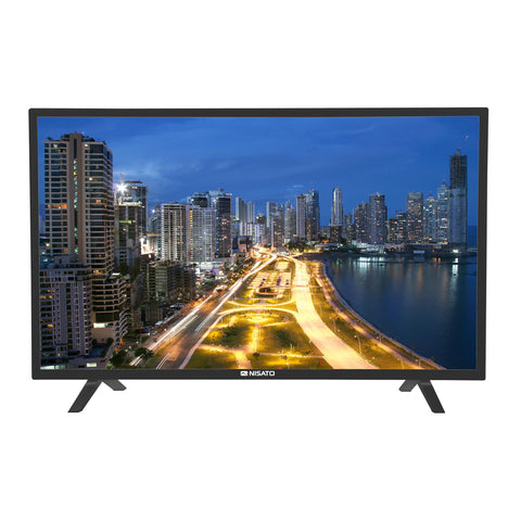 "NISATO, TELEVISOR LED TV 43"", SMART TV HUB, FULL HD 1080P, 2 X USB, 3 X HDMI, 1 X VGA"
