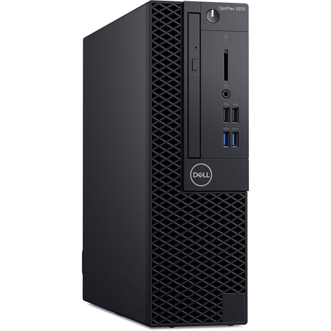 DELL OptiPlex 3070 SFF, Intel® Core™ i5-9500 3.0 GHz, 4 GB RAM, 1 TB HDD, Windows 10 Pro 64, Español