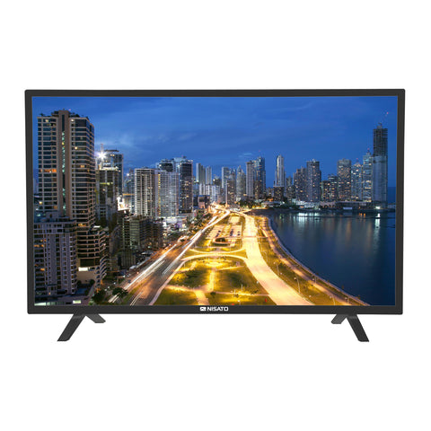 "NISATO, TELEVISOR LED TV 32"", SMART TV NETFLIX, HD720P, 2 X USB, 2 X HDMI, 1 X VGA"