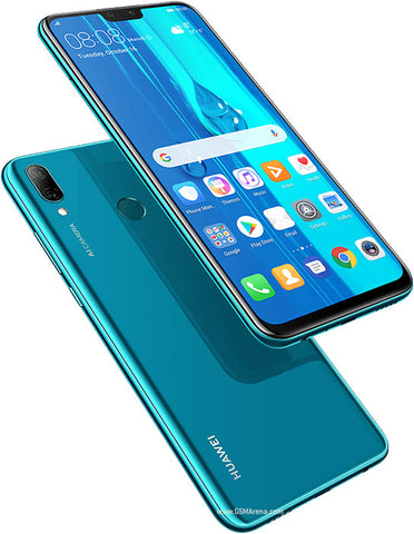 "HUAWEI, Y9 2019, 64GB, 3GB RAM, MICROSD HASTA 400GB, 6.5"", AZUL, SINGLE SIM, OCTACORE, CAMARA 16MP, SELFIE 13MP"