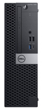 Dell, Modelo: OptiPlex 7060 SFF, Intel® Core™ i7-8700, 8 GB RAM, 1 TB, Windows 10 Pro 64, Español, Código: 9TWWM