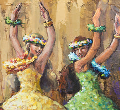 Hula Flowers (sold)