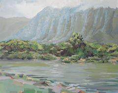 Ko'olau Mountains from Ahuimanu (sold)