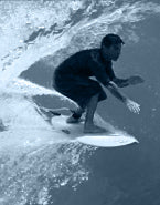 Mark Howard, Surfing