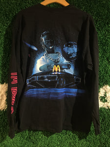 Travis Scott x McDonald's Action Figure Space Long Sleeve Shirt