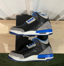 Load image into Gallery viewer, Jordan 3 Retro Sport Blue