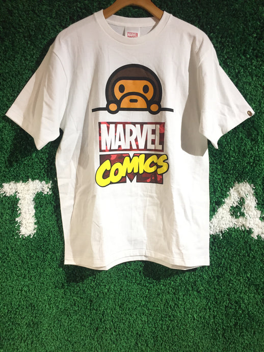 Bape Marvel Comics Shirt