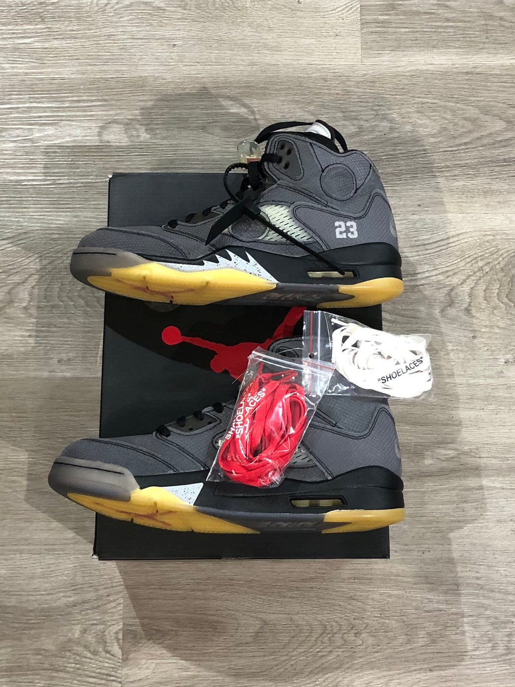 Jordan 5 Retro x Off White