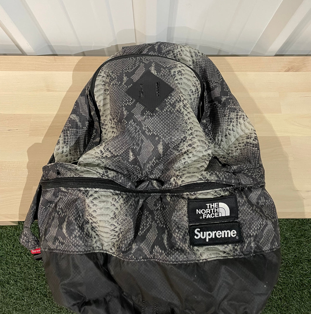 Supreme x TNF Snakeskin Backpack