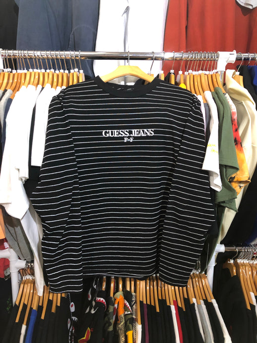 Places + Faces x Guess Striped Long Sleeve