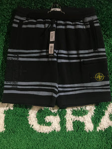 Supreme x Stone Island Striped Shorts